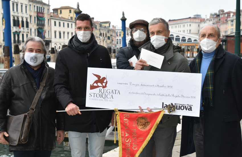 Premiati i vincitori della Regata Storica di Venezia