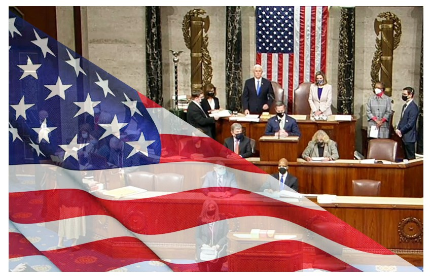 USA 2020: dopo l'assalto il Congresso torna in sessione congiunta e conferma Biden-Harris alla Casa Bianca