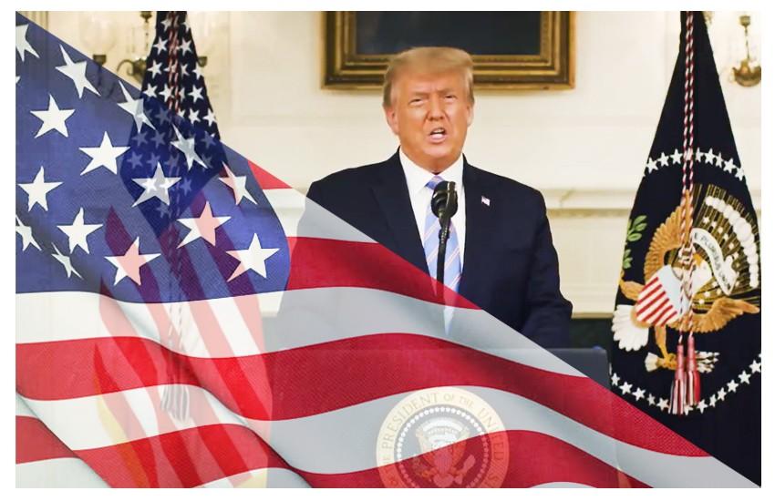 Trump concede: 'Una nuova amministrazione sarà inaugurata il 20 gennaio'
