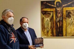 WALTER MARIN DONA OPERA ALL'OSPEDALE CA' FONCELLO