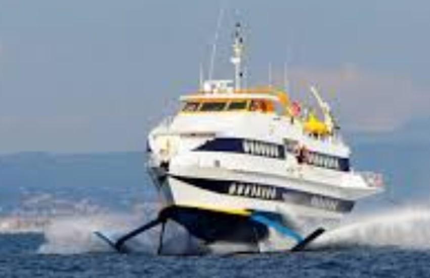 Pronto l'aliscafo che collegherà Ventimiglia a Monaco in 8-10 minuti