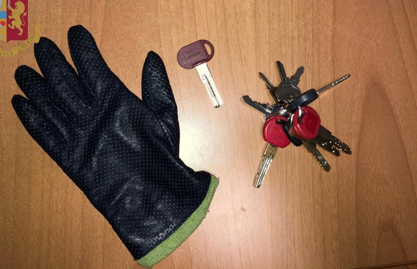Ostiense, ladra d'appartamento arrestata dalla Polizia