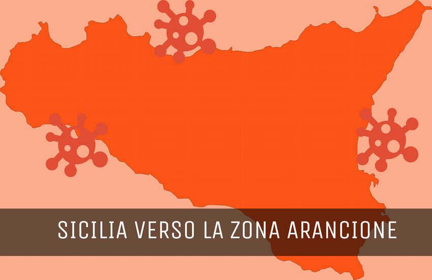 Sicilia Zona arancione da domenica 31 gennaio, ecco le regole per spostamenti ed esercizi commerciali
