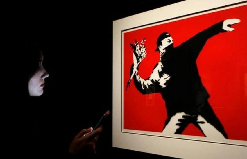 Sarzana, le opere di Banksy a Sarzana in una fortezza del '400 dal 30 gennaio