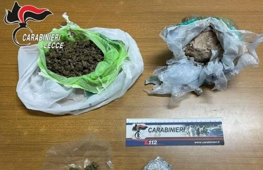 Quasi 700 grammi di droga in casa. Arrestato per spaccio 51enne di Soleto