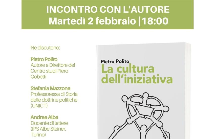 """Officine Culturali, incontro con Pietro Polito e """"La Cultura dell'iniziativa"""""""