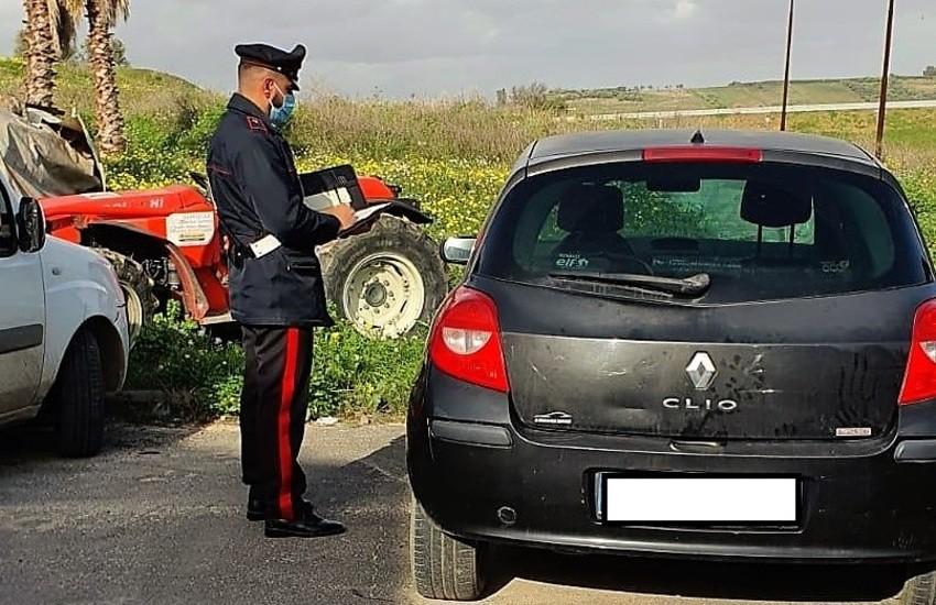 Palagonia, utilizzavano l'auto confiscata al congiunto condannato per mafia