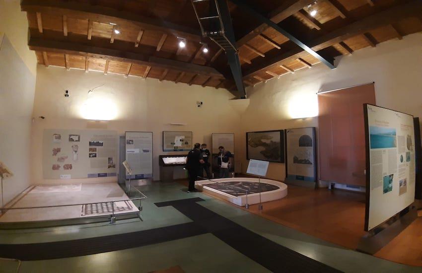 LA PROSSIMA SETTIMANA APERTURA AL PUBBLICO DEL MUSEO ARCHEOLOGICO DI PIOMBINO, se confermata la zona gialla
