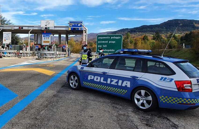 Il bilancio 2020 della Polizia Stradale di Parma