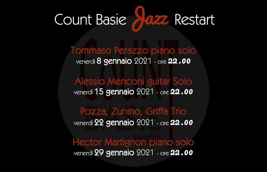 """Concerti """"jazz restart"""" Coun Basie"""