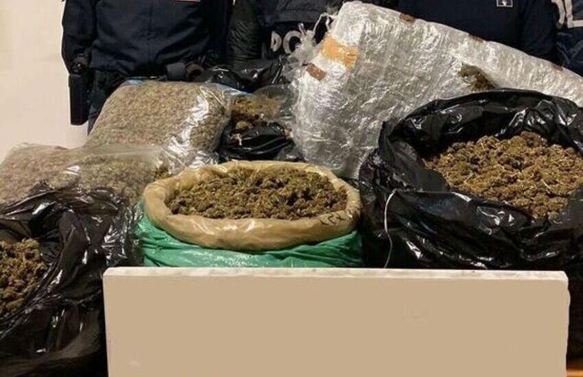 Anagnina, albanese trovato con 28 kg di marijuana, arrestato anche il complice che aveva cambiato cognome