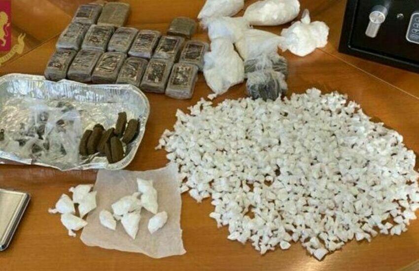 San Basilio, sequestrati 3 kg di droga. Arrestati in tre nel triangolo dello spaccio tra via Morrovalle, via Recanati e via Osimo
