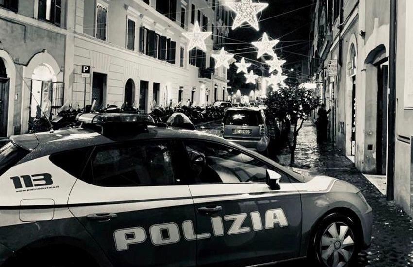Trastevere, servizi di prevenzione della Polizia di Stato