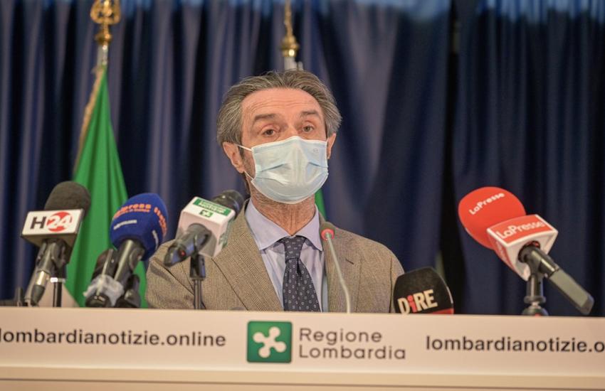Covid: Fontana firma ordinanza, Brescia arancione fino al 2/03