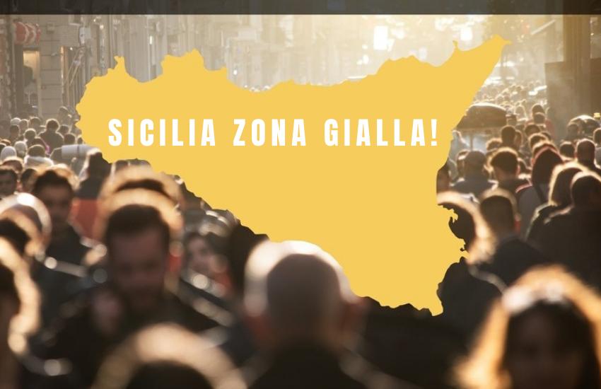 Sicilia gialla! C'è la firma del ministro, indice Rt più basso d'Italia. Ecco cosa si potrà di nuovo fare