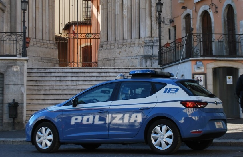 Sulmona, fuga dopo incidente: scatta la denuncia