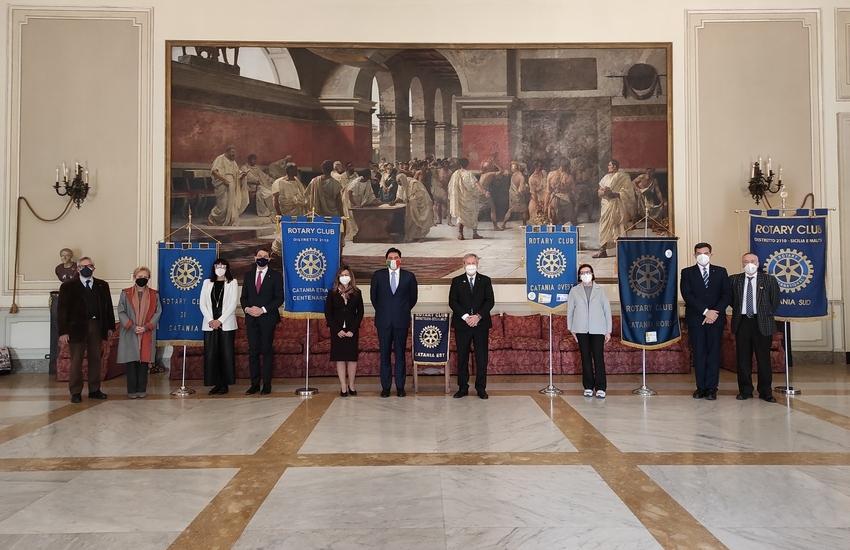 Sindaco e assessore Mirabella incontrano rappresentanti Rotary
