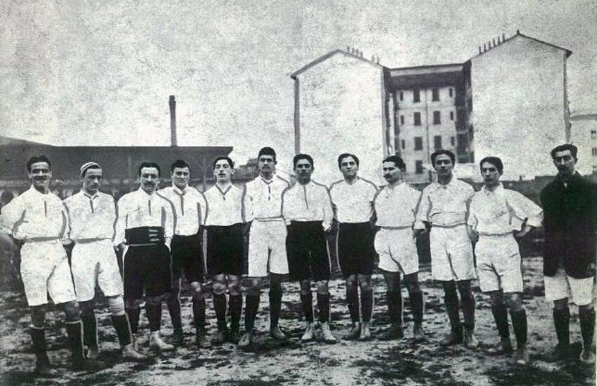 Era di Riposto il capitano della prima storica partita della nazionale di calcio: Francesco Calì – Foto gallery