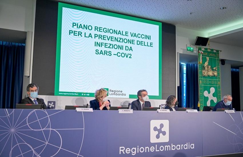 Lombardia: Vaccinazioni Anti-Covid, al via nuova strategia