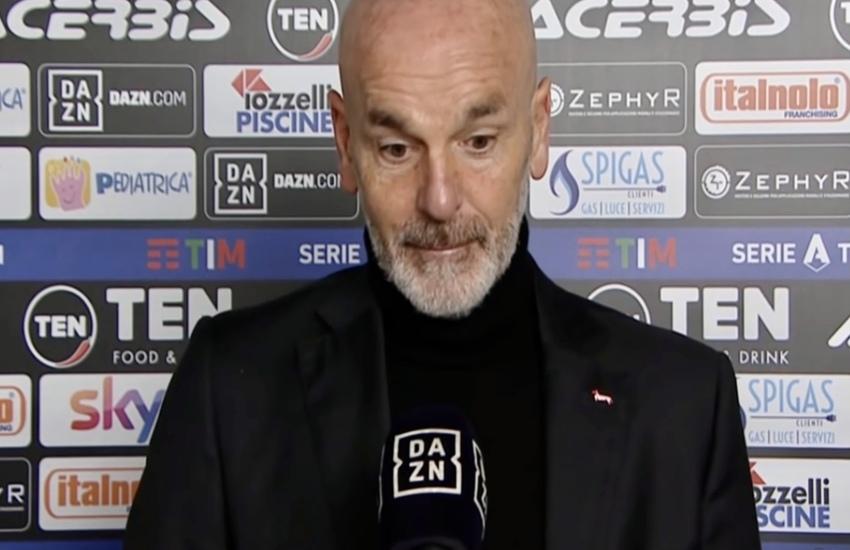 Roma-Milan: Pioli non ha dubbi, 'Scontro diretto Champions'