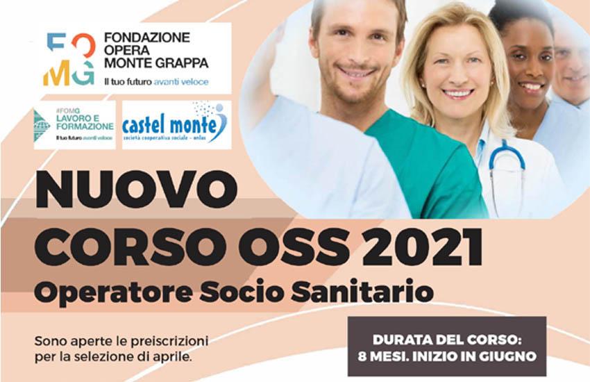 Operatore socio sanitario: nuovo corso della Fondazione Opera Monte Grappa