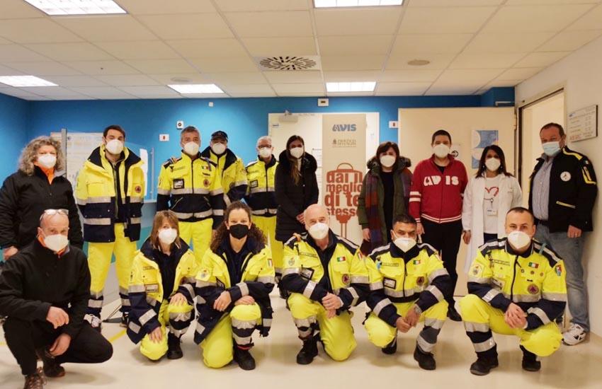 Mestre, volontari Protezione Civile donatori di sangue