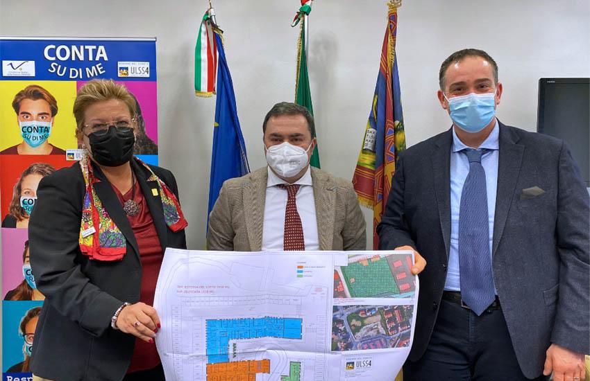 Cavallino-Treporti, Ca' Savio, presentato il nuovo distretto sociosanitario unico che nascerà in via Treportina