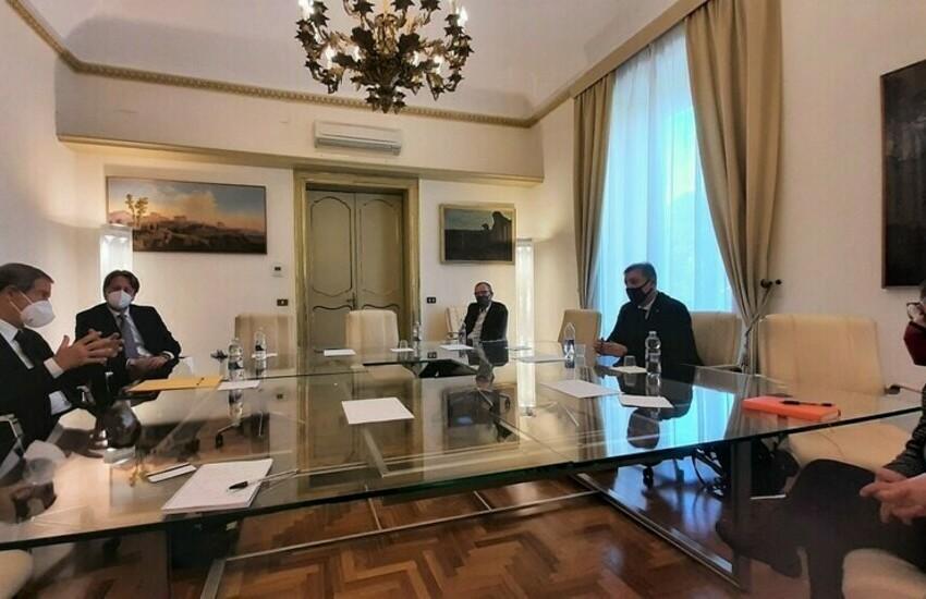 Palermo, Musumeci e Messina incontrano vertici compagnia aerea Ego Airways