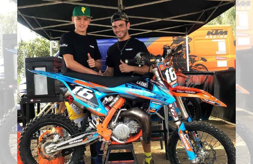 Lorenzo Pecorilli scalda i motori: domani si corre sul circuito di Acquaviva Picena