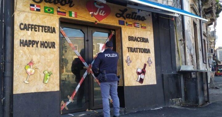 Catania, ennesima chiusura per il Sabor Latino