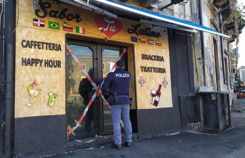 Catania, trenta giorni di chiusura per il Sabor Latino
