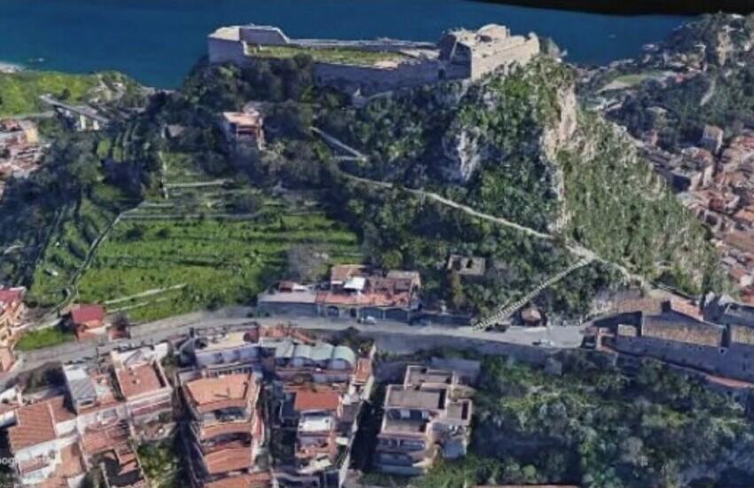Taormina, dissesto idrogeologico, un progetto per il Castello di Monte Tauro