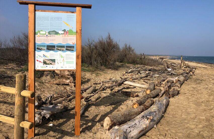 Progetto Welcome, intervento a San Cataldo per la ricostruzione dunale