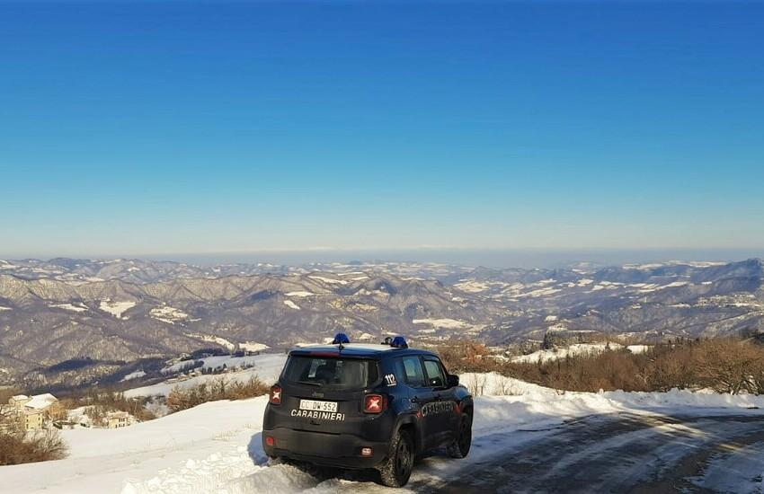 Neve e ghiaccio: i controlli  alla circolazione stradale nel bolognese