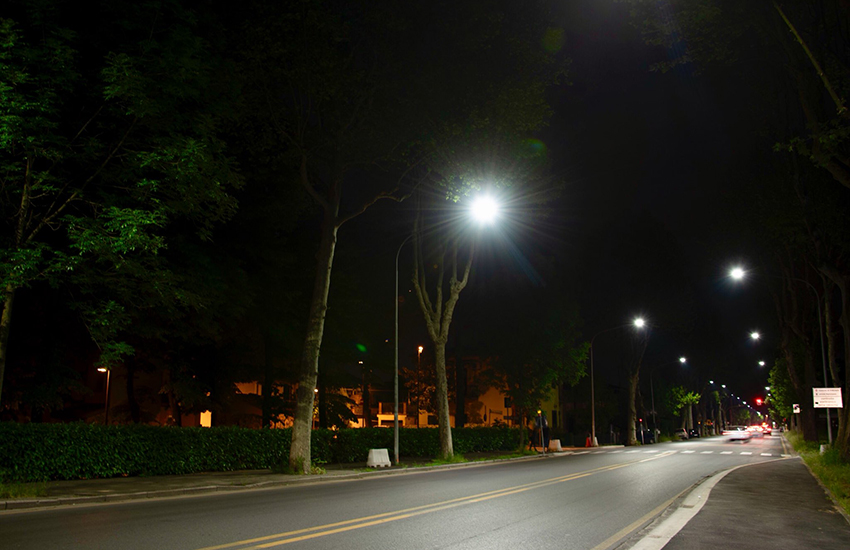 Albignasego, riqualificazione su 300 lampioni stradali