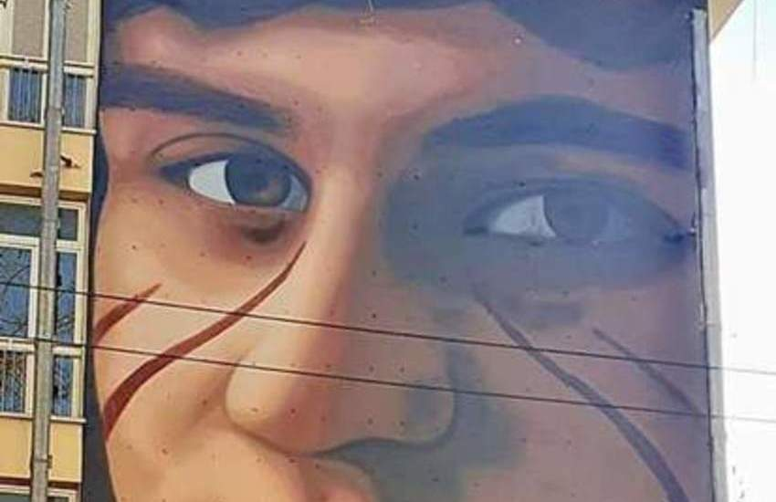 Un grande murale per Valerio Verban
