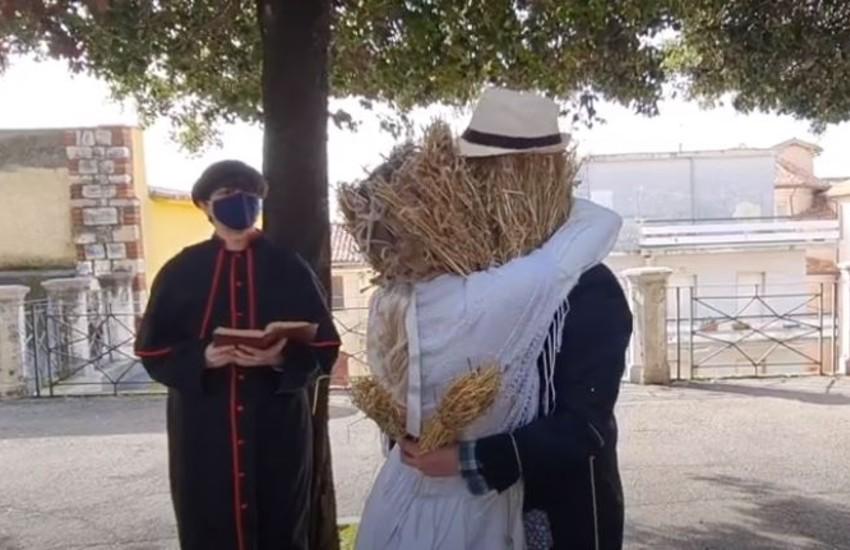 Il carnevale di Sezze si chiude col rogo di Peppalacchio: rigorosamente virtuale