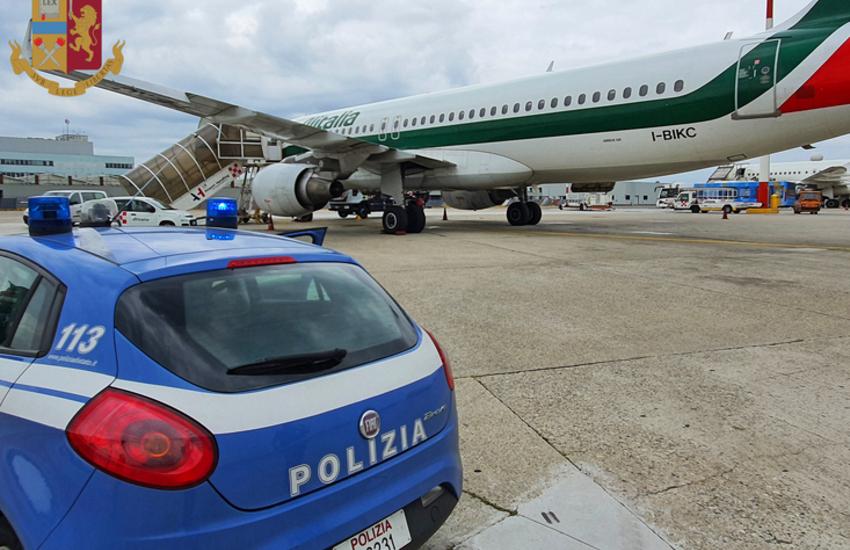 Milano Linate, in partenza per Londra con i documenti falsi, arrestati due albanesi