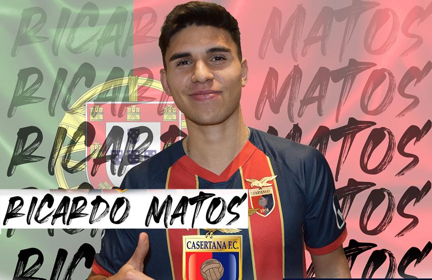 """Ricardo Matos alla Casertana: """"amo  sempre stare nel vivo dell'azione"""""""