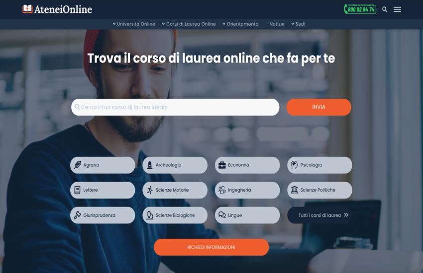 AteneiOnline, il portale dedicato ai Corsi di Laure delle Università italiane