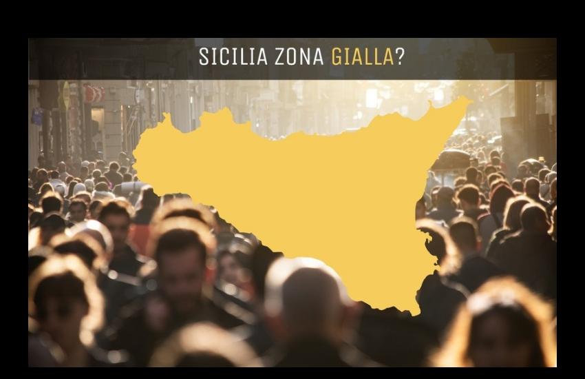 La Sicilia verso la zona gialla, ecco cosa cambierà per gli spostamenti ed esercizi commerciali