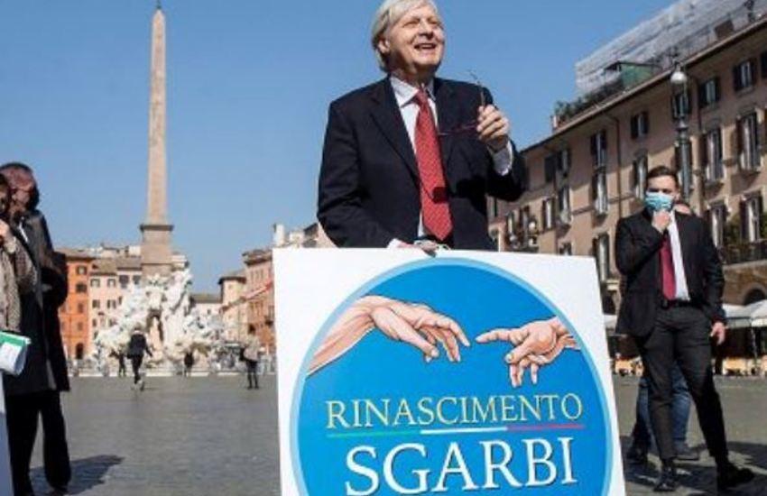 """Sgarbi sindaco di Roma: """"Le ridaremo la dignità di Capitale"""""""