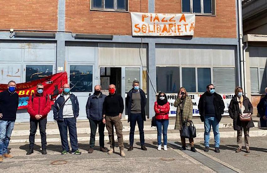 """""""Piazza della Solidarietà"""" : uniti a parlare di Industria, Lavoro e Futuro"""