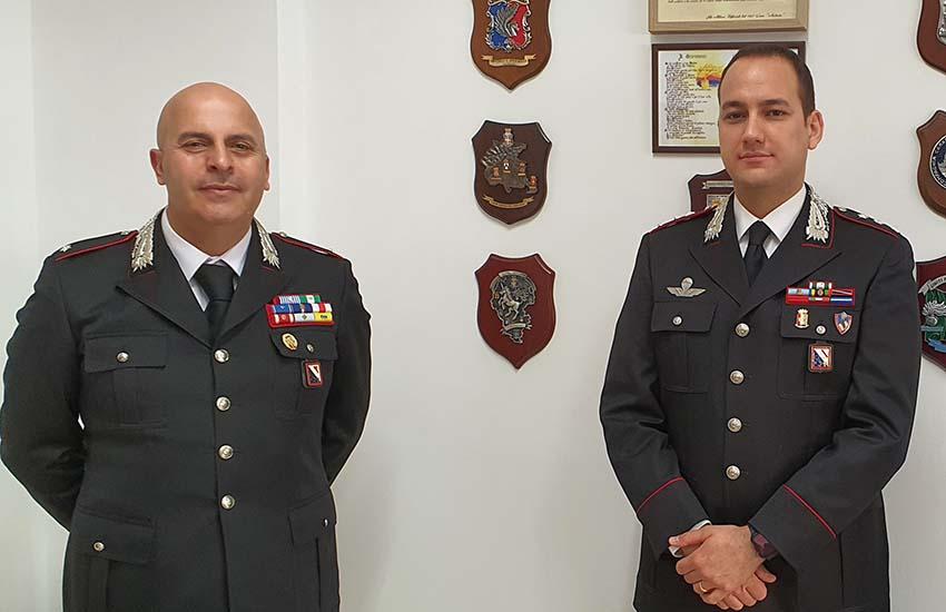 Il casertano Francesco Caterino è il nuovo Comandante dei Carabinieri di Avellino