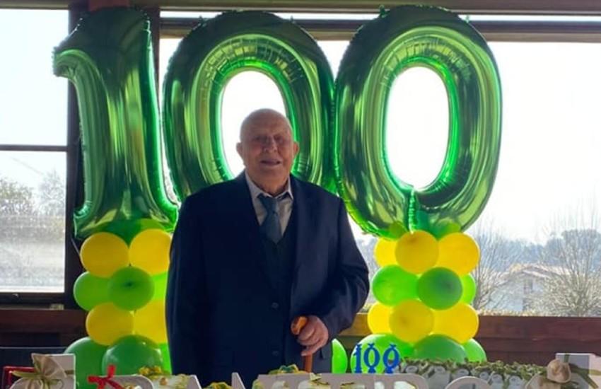 Priverno, festeggia 100 anni Raniero, superstite della campagna di Russia