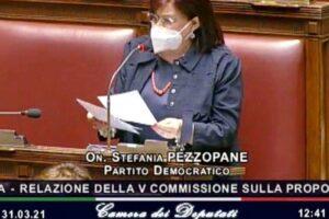 """Dl Semplificazioni approvato ieri notte, Pezzopane (Pd): """"Premiato mio impegno per sisma, aree interne, parchi, ambiente"""""""