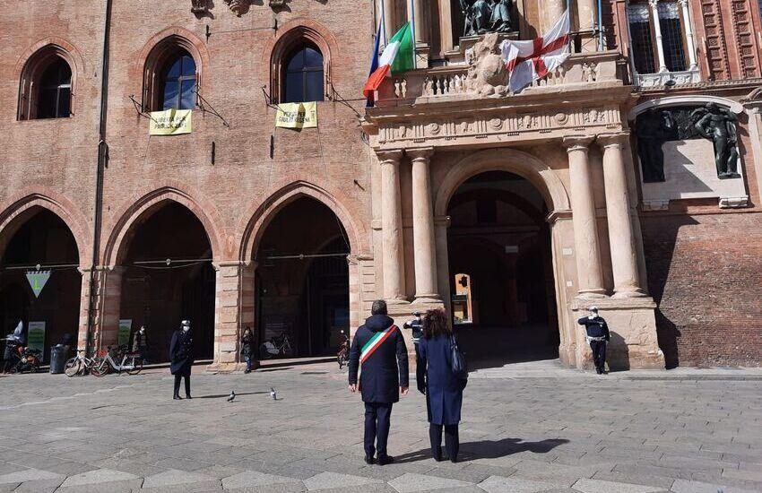 Bologna: il ricordo delle vittime del Covid-19