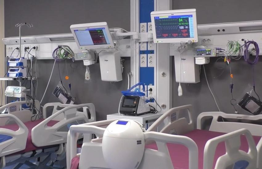 Coronavirus, un decesso al Grande Ospedale Metropolitano