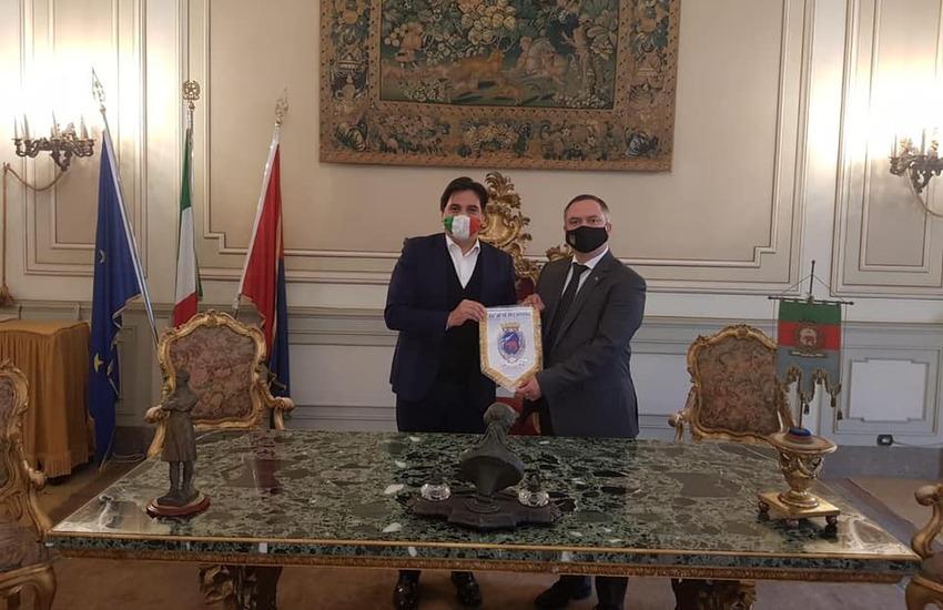 Il sindaco incontra il Console generale dell'Ucraina in Italia