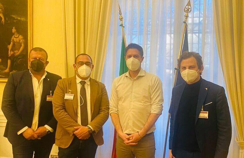 Sicurezza Abruzzo: Imprudente e Zennaro dal vice ministro Molteni